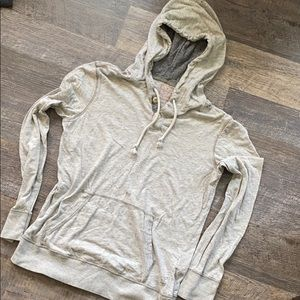 American Eagle gray hoodie size Xs